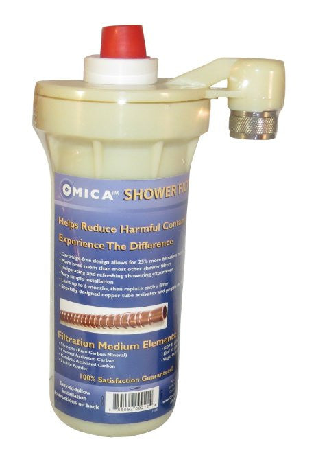 Omica Organics Shower Filter - Helps restore the natural integrity of the water