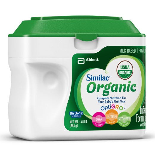 Similac Advance Organic Infant Formula with Iron, Powder - Complete Nutrition