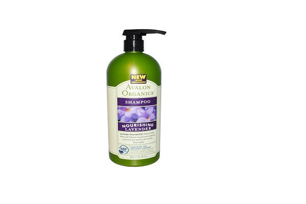 Avalon Organics Lavender Nourishing Shampoo, 32 Ounce - 3 per case - Quality you can trust - SustainTheFuture.us - The Natural and Organic Way of Life