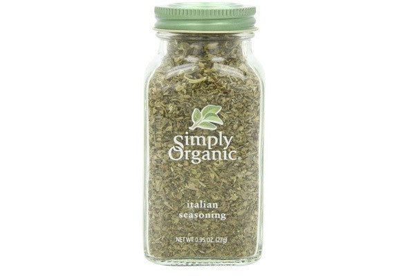 Simply Organic Italian Seasoning Certified Organic - 1% of sales supports organic farming