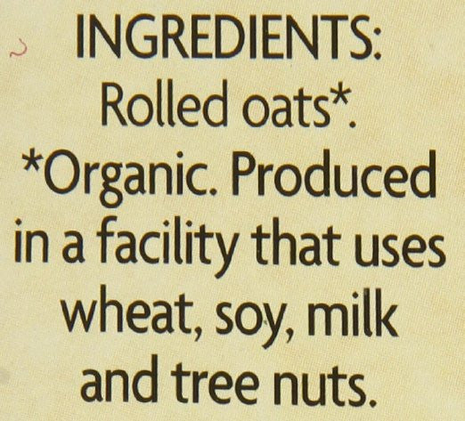 Nature's Path Organic Instant Hot Oatmeal Pouch Original (Pack of 6)