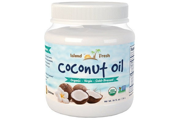 Island Fresh Superior Organic Virgin Coconut Oil - Help support a healthy metabolism - SustainTheFuture.us - The Natural and Organic Way of Life