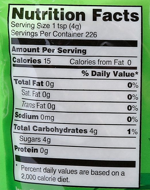 Wholesome Sweeteners, Organic Sugar, Cane, 2 lb - Unrefined sugar from freshly squeezed