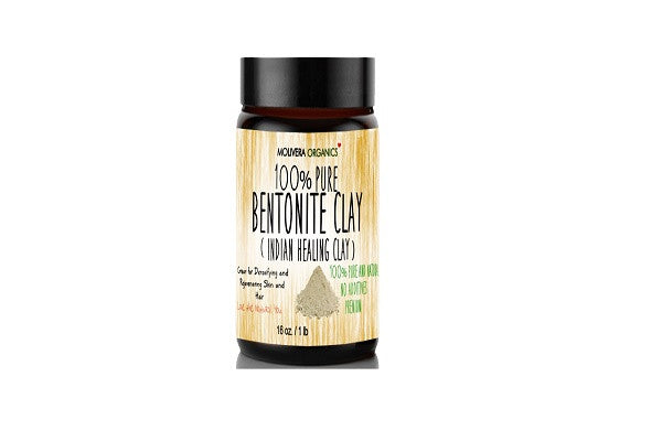 Molivera Organics Bentonite Clay for Detoxifying and Rejuvenating Skin and Hair, 16 oz. - SustainTheFuture.us - The Natural and Organic Way of Life