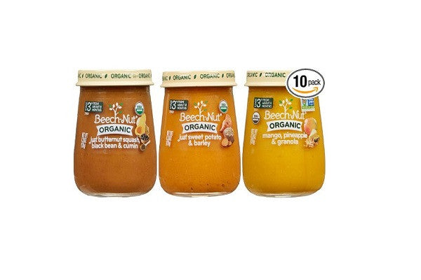 Beech-Nut Organic Stage 3 Baby Food Variety Pack, 4.25 Ounce (Pack of 10) - USDA - SustainTheFuture.us - The Natural and Organic Way of Life