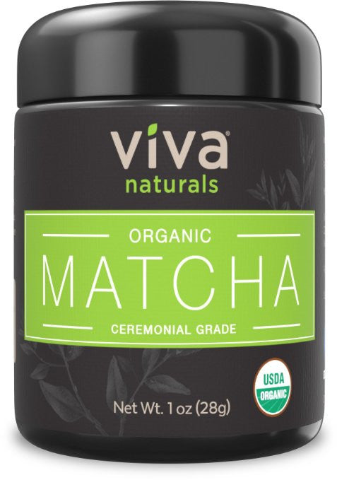 Viva Naturals Organic Matcha Green Tea Powder - Represents the true essence