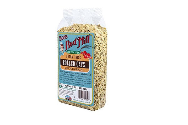 Bob's Red Mill Organic Oats Rolled Thick - Freshly milled from the highest quality oats - SustainTheFuture.us - The Natural and Organic Way of Life