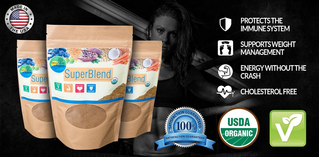 Best Organic Holistic Nutrition Superfood Blend With High Amino Acids