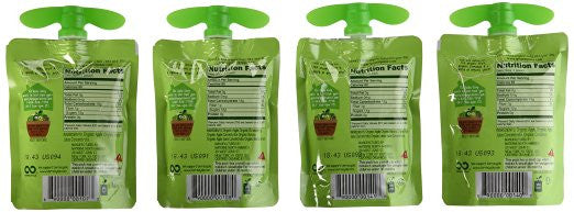 GoGo SqueeZ ORGANIC New On the Go Apple Sauce VARIETY PACK - Gluten Free - SustainTheFuture.us - The Natural and Organic Way of Life