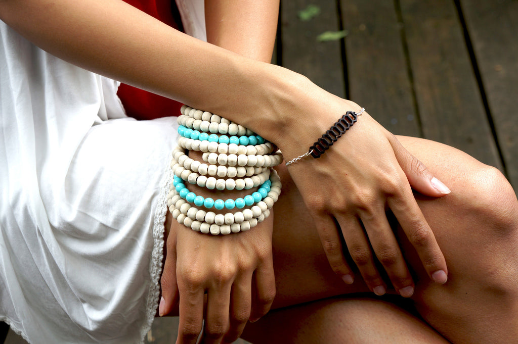 HONEYCOMB BRACELET. Natural & Recycled - SustainTheFuture.us - The Natural and Organic Way of Life