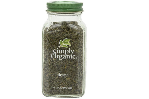 Simply Organic Thyme Leaf Whole Certified Organic Containers - Extra-fancy