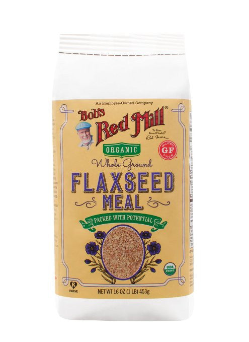 Bob's Red Mill Organic Brown Flaxseed Meal (Pack of 4) - Omega-3 fatty acids