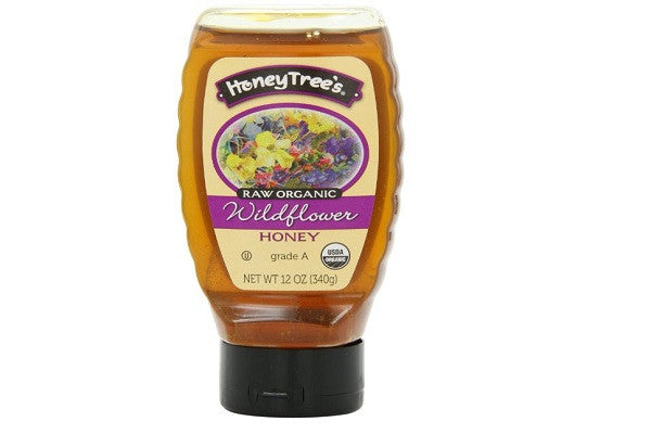 HoneyTree's Raw Organic Honey, Wildflower - Delicious organic honey - SustainTheFuture.us - The Natural and Organic Way of Life