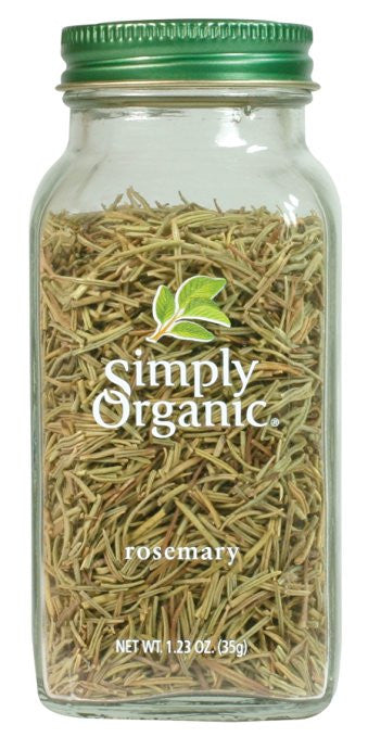 Simply Organic Rosemary Leaf Whole Certified Organic - Fresh taste that stars in dressings