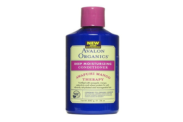 Avalon Organics Deep Moisturizing Conditioner, 14 Ounce (Pack of 3) - Infuses dry, brittle hair - SustainTheFuture.us - The Natural and Organic Way of Life