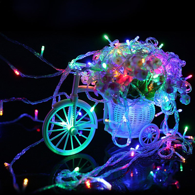 20M 200 LEDs 110V 220V led string light colorful waterproof holiday led lighting Christmas/Wedding/Party Decoration Lights