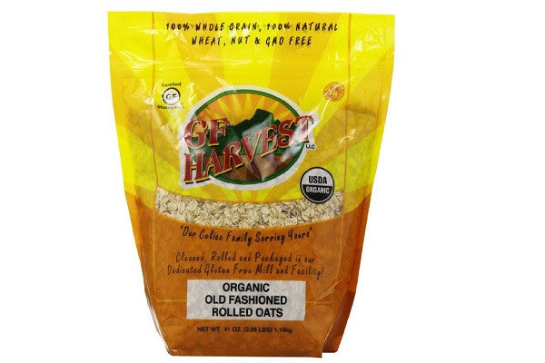 GF Harvest Gluten Free Organic Rolled Oats, 41-Ounce Pouch - gluten free - SustainTheFuture.us - The Natural and Organic Way of Life