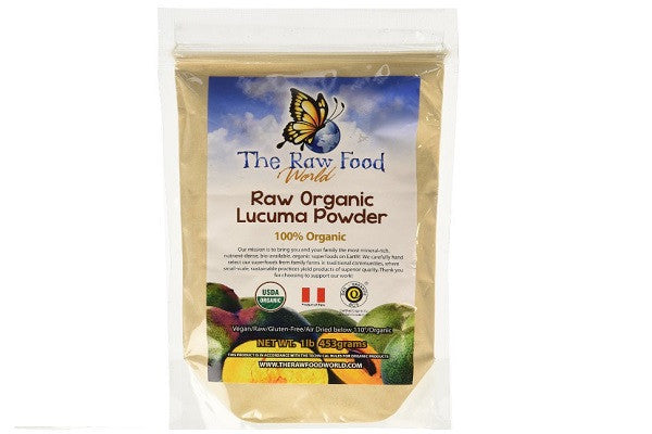 Certified Organic Raw Lucuma Powder 16oz - Vegan/Raw/Gluten-Free - SustainTheFuture.us - The Natural and Organic Way of Life