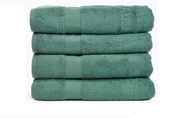 Luxury Hotel & Spa Towel 100% Genuine Turkish Cotton Bamboo Set of 4 - SustainTheFuture.us - The Natural and Organic Way of Life