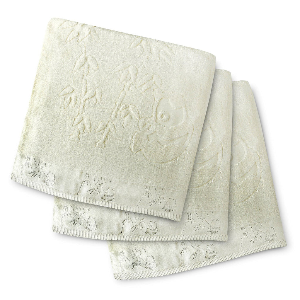 Brooklyn Bamboo Bath Towels SOFT, Absorbent More Durable Than Cotton Beautiful 3Pc Set