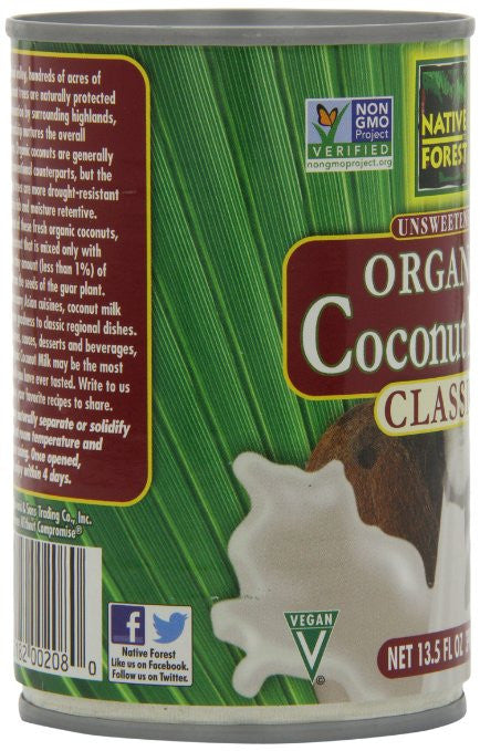 Native Forest Organic Classic Coconut Milk - Imparts rich and creamy goodness to wonderful