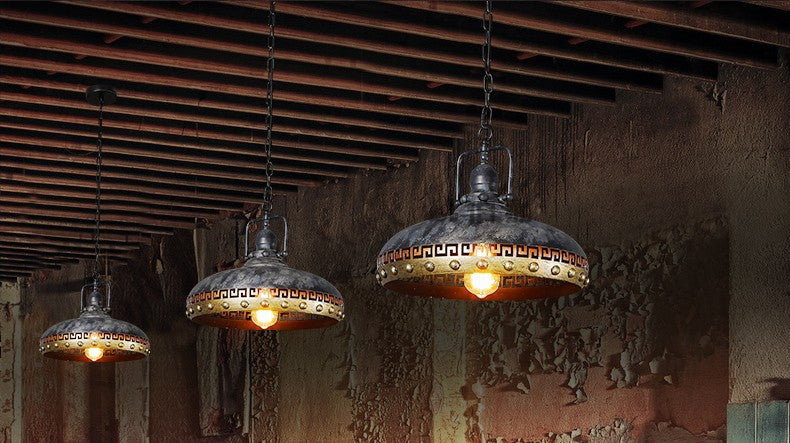 American Rustic Edison Loft Style Industrial Pendant Lighting Fixtures Retro Vintage Lamp Hanging Lights Lamparas Conlgantes