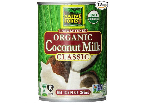 Native Forest Organic Classic Coconut Milk - Imparts rich and creamy goodness to wonderful - SustainTheFuture.us - The Natural and Organic Way of Life