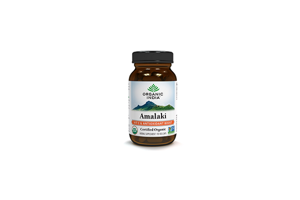 ORGANIC INDIA Amalaki - 90 vegetarian capsules per bottle