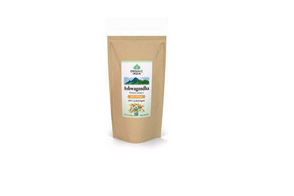 ORGANIC INDIA Ashwagandha Powder - 1 lb. - Certified 100% Organic
