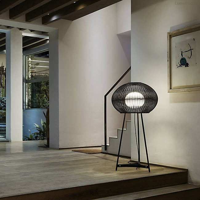 Garota Tall Outdoor Floor Lamp By Alex Fernández Camps, Gonzalo Milà for Bover