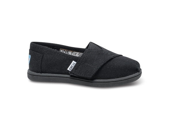 BLACK CANVAS TINY TOMS CLASSICS - SustainTheFuture.us - The Natural and Organic Way of Life