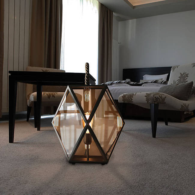Muse Lantern Floor Lamp By Tristan Auer for Contardi Lighting
