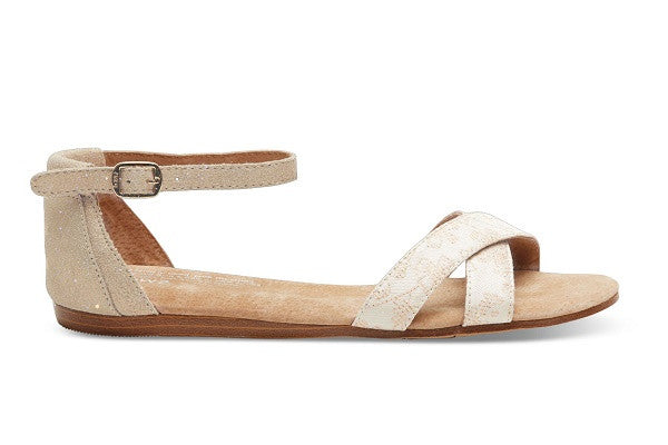 FLORAL JACQUARD SUEDE WOMEN'S CORREA SANDALS - SustainTheFuture.us - The Natural and Organic Way of Life