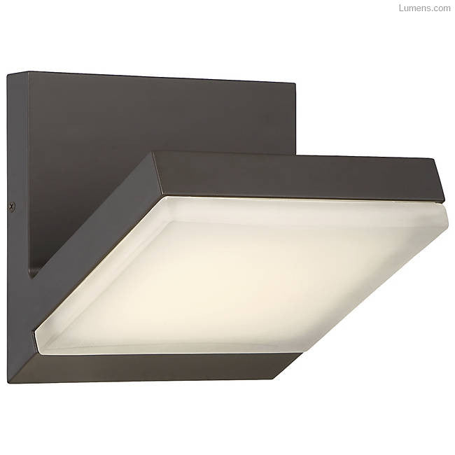 Angle Outdoor LED Wall Sconce By George Kovacs