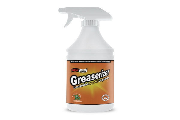Greaserizer All Purpose Degreaser Spray, 32 Oz - SustainTheFuture.us - The Natural and Organic Way of Life