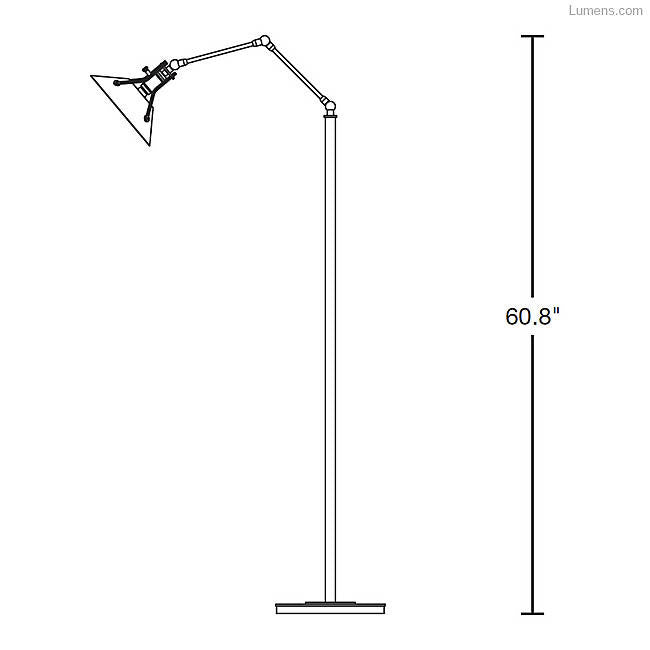 Henry Floor Lamp By Hubbardton Forge