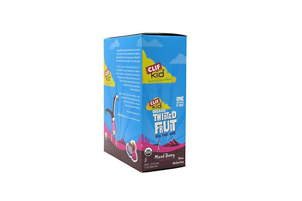Clif Bar Kid Zfruit - Organic Mix Berry Case Of 18 - 0.7 Oz Bursting with luscious berry flavor! - SustainTheFuture.us - The Natural and Organic Way of Life
