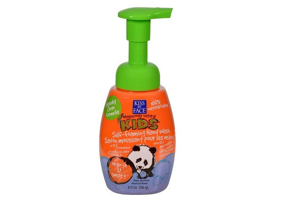 Kiss My Face Kids Hand Wash Self-foaming Orange U Smart - Natural Essential - SustainTheFuture.us - The Natural and Organic Way of Life