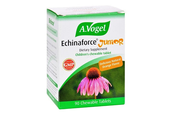 A Vogel Echinaforce Junior Chewable 90 Tablets - Organic cultivation certified by Bio Suisse - SustainTheFuture.us - The Natural and Organic Way of Life