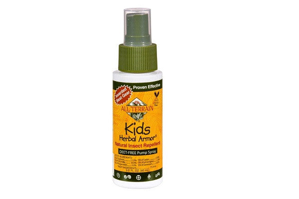 All Terrain Kids Herbal Armor - 2 Fl Oz - Natural Mosquito Repellent for Kids - SustainTheFuture.us - The Natural and Organic Way of Life