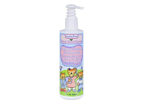 Healthy Times Baby Shampoo Pansyflower - 8 Fl Oz - USDA, natural ing - SustainTheFuture.us - The Natural and Organic Way of Life