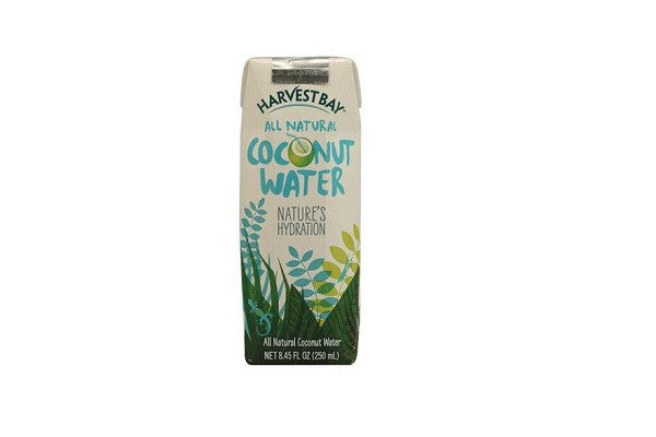 Harvest Bay All Natural Coconut Water - 8.5 Fl Oz - Case Of 12 - Nature's Hydration - SustainTheFuture.us - The Natural and Organic Way of Life