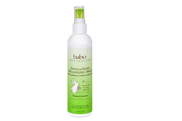 Babo Botanicals Conditioner - Uv Sport Spray Berry - 8 Oz - Certified Organic Nutri-Soothe - SustainTheFuture.us - The Natural and Organic Way of Life