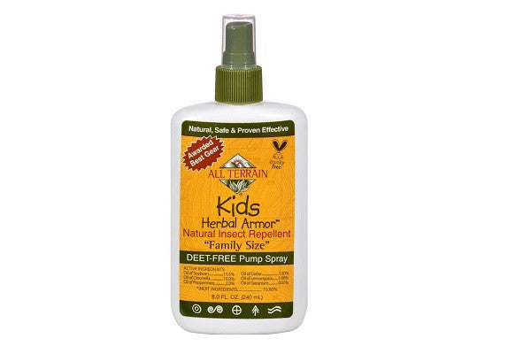All Terrain Herbal Armor Natural Insect Repellent - Kids Family Sz 8 Oz - GMO-free - SustainTheFuture.us - The Natural and Organic Way of Life