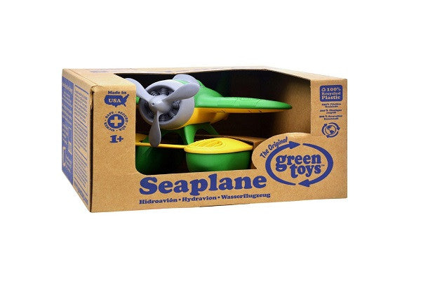 Green Toys Seaplane - Green - Contains no BPA, lead, or phthalates, eco-friendly - SustainTheFuture.us - The Natural and Organic Way of Life