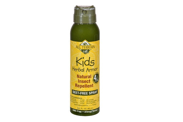 All Terrain Herbal Armor Natural Insect Repellent Kids Cont Spry - 3 Oz Naturally effective - SustainTheFuture.us - The Natural and Organic Way of Life