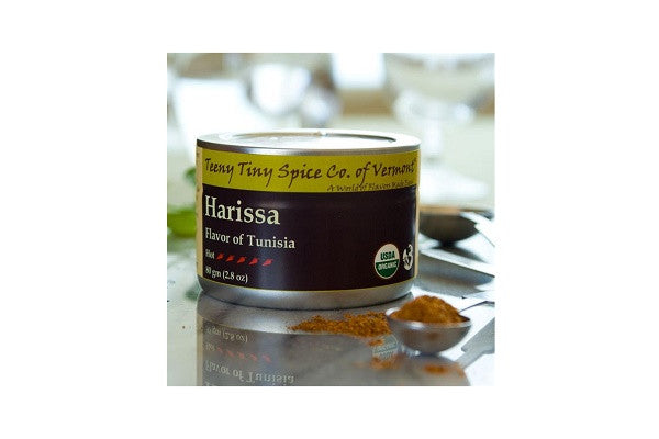 Harissa: Flavor of Tunisia (Teeny Tiny Spice Co. of Vermont) - SustainTheFuture.us - The Natural and Organic Way of Life
