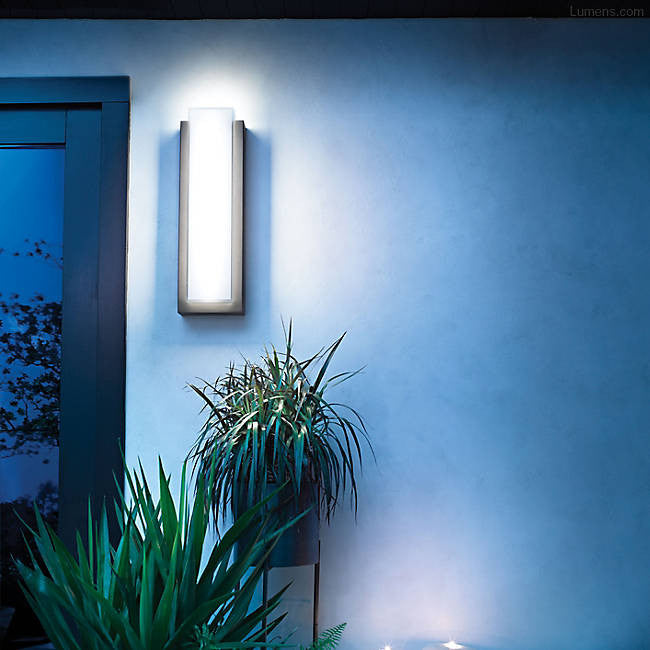 Dahlia Outdoor LED Wall Sconce By Kichler