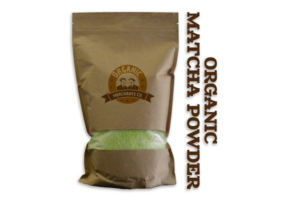 Organic Matcha Green Tea Powder - 2lb Bag - Kosher, NON GMO, Gluten Free