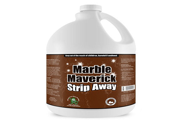 Marble Maverick Strip Away Superior Marble Floor Stripper, 1 Gallon - SustainTheFuture.us - The Natural and Organic Way of Life